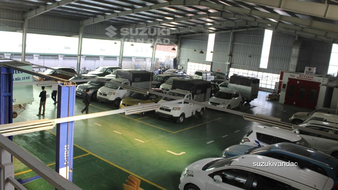 Dịch vụ 3s Suzuki Hà Nội